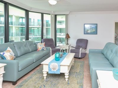 Photo for Beautiful Large 3bdr 3Bath Condo on the Bay *Waterslide, Lazy River""