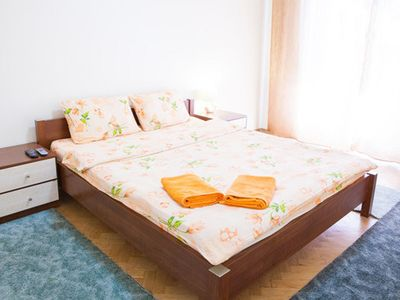 Photo for Bright and comfortable 2 bedrooms (3 rooms) 3,5 km to Maidan