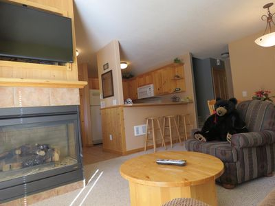 Photo for Ground floor 2 bedroom condo close to ski-out trails