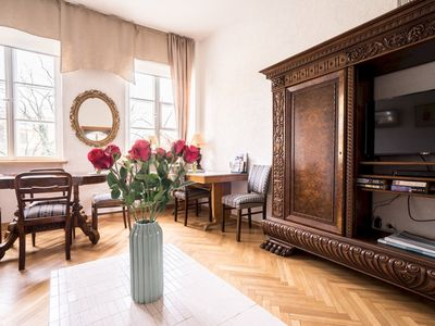 Photo for spacious Two-bedroom Apt in historical Old Town
