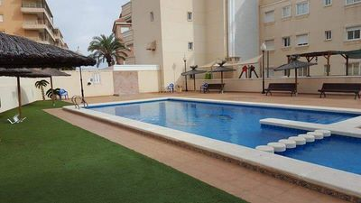 Photo for APT 50MTS FROM THE BEACH ,, PARKING INCLUDED, POOL
