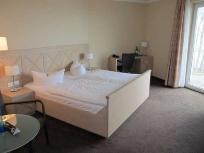 Photo for Comfort double room handicapped accessible - Strandhotel Seerose Kölpinsee