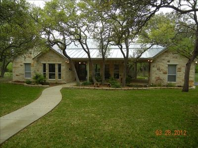 Photo for 2 BR Hill Country Guesthouse on 18 Acres 2 Miles from Boerne!!