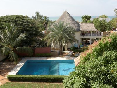 Photo for Superb property with 1 villa, 3 bedroom and pool in Ngaparou near the beach