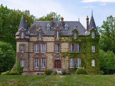 Photo for In Chateau Le Perche - Located in the forest.