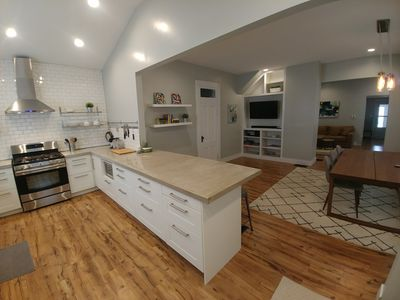 Photo for Gorgeous, open, modern Fountain Square home with terrific entertaining space.