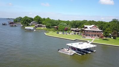 Over 300 feet of water front for fishing, boating, swimming and relaxing!
