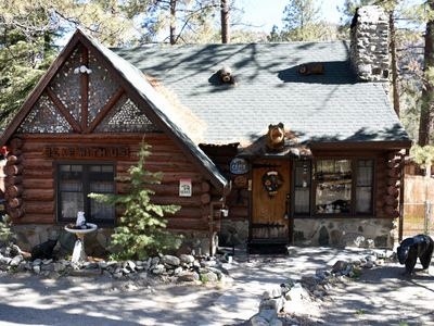 Photo for Cozy Comfort @ Bear With Us Lodging - Historic Log Cabin - Located Downtown