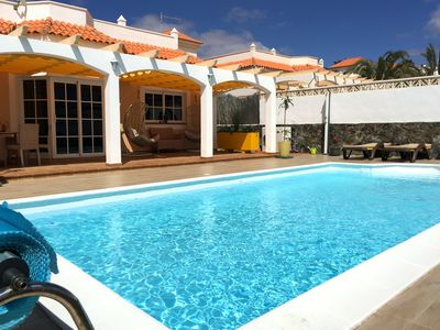Photo for Luxury 4 bedroom Villa with heated pool and all facilities