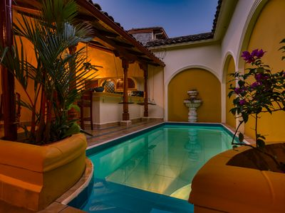 Photo for Casa de Arcos: Astonishing&spacious colonial villa w private pool @best location