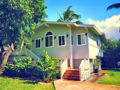 """Photo for Best Location! Amazing Beach! 165+ 5 Star Reviews! Hot Tub, AC, 4 Bikes, 55"""" TV"""