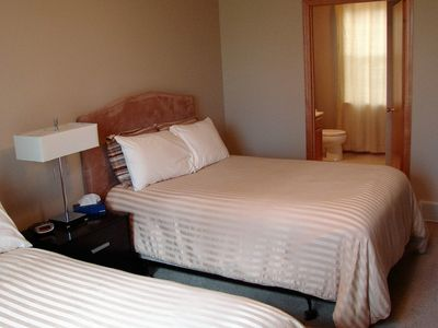 Unit #1 - Suite 3 bedroom with attached bathroom