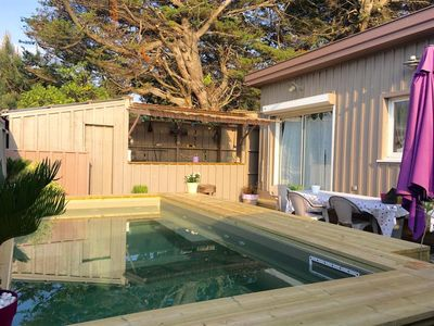 Photo for B10: The Cabin at Cap Ferret with its private pool - Near the ocean: everything can be done on foot, by bike!