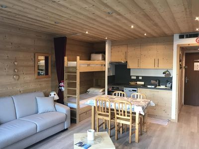 Photo for This one room of 30 sqm² for 4 people is very spacious. Completely renovated in 2017 it has a new s