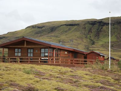 Photo for AMAZING VIEW. Great location in the heart of the Golden Circle. Luxury hot tub