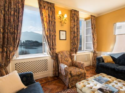 Photo for Your Window on the Lake, a romantic getaway in the luxury Orta apartment