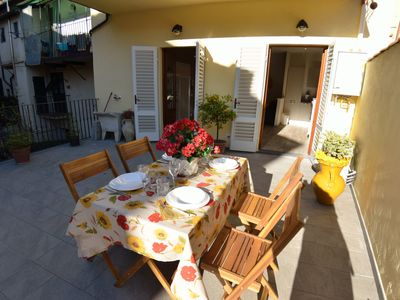 Photo for Nice apartment for 6 guests with WIFI, A/C, TV and terrace, close to Pisa