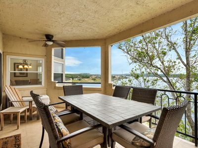 Photo for Top Floor - Largest Waterfront Villa - Private Island Setting - Panoramic Views