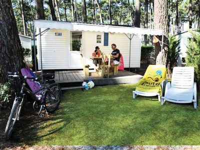 Photo for Camping Le Vieux Port ***** - Mobile Home Eco 3 Rooms 4 People Without Sanitary