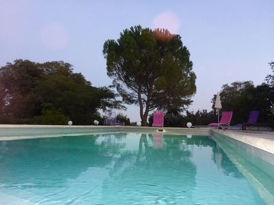 Photo for Charming country house with pool in a fantastic location