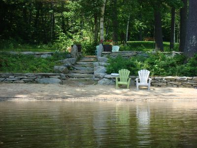 Photo for Gorgeous Lakefront, Beach, Spacious Grounds, Pet Friendly/Hanover Area