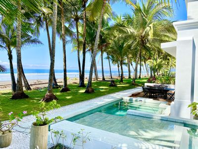 Photo for Contemporary Beach Front Gem - Private Infinity Pool!