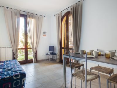 Photo for Canino - Two-room apartment with pool view in Suvereto