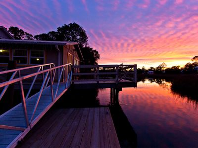 Views from this Waterfront property 7 Bedrooms, Private Boathouse, and Dock