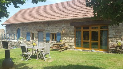 Photo for Romantic family holiday home Gentilhomme near Cluny, Taize and Macon!