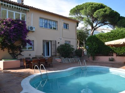 Photo for VILLA MOLÍ, WITH POOL, GARDEN, BBQ, AIR CONDITIONING IN A VERY QUIT STREET.