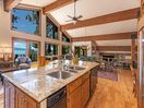 Fabulous open kitchen with views