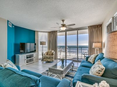 Photo for North Shore Villas 405, 3 Bedroom Beachfront Condo, Hot Tub and Free Wi-Fi!