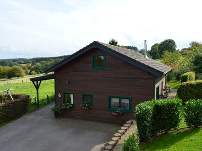 Photo for Les Mélèzes - Superb chalet very well equipped and very quiet. View of the valley.