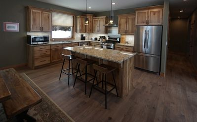 Beautiful kitchen just made for cooking!
