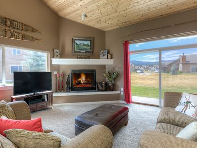 Photo for FLEXIBLE CANCELLATIONS! Big Sky Town Center- Cozy Ski Chalet