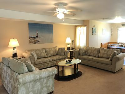 Photo for Massive 5 BR/3.5 BA - 2 Blks to Beach;Free Wi-Fi;Pool;OceanView