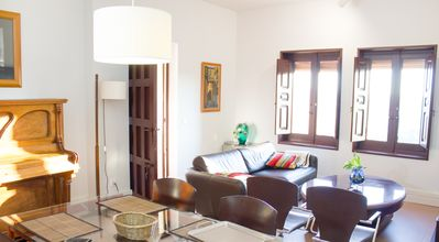 Photo for Apartment in Cigarral de Toledo with pool, terrace with views and FREE WIFI