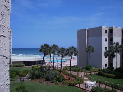 Photo for Comfy Beachview 2 Bed/2 Bath On Car-Free Beach,Sunny Side;New furniture & floors