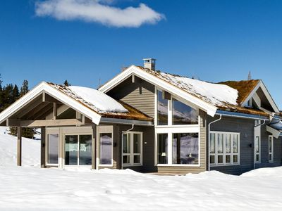 Photo for Modern Cabin in very nice Norwegian mountain - Hallingdal