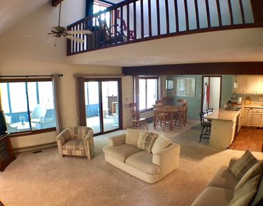 Get away to this beautiful open concept house within walking distance to Higgins