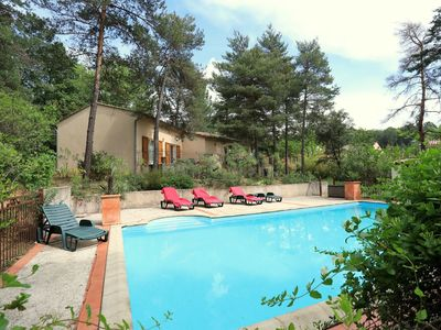 Photo for Modern holiday home with private swimming pool in the heart of the Ardèche