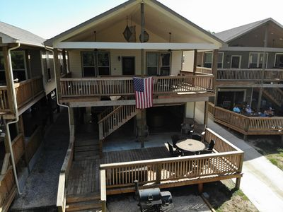 Photo for River Road Villas #3-Located on River Front-Amazing Outdoor kitchen/living area!