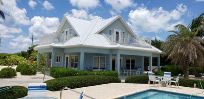 Photo for Luxury Home near Rum Point w/ Beachfront Pool, Spectacular Views, Sleeps up to 8