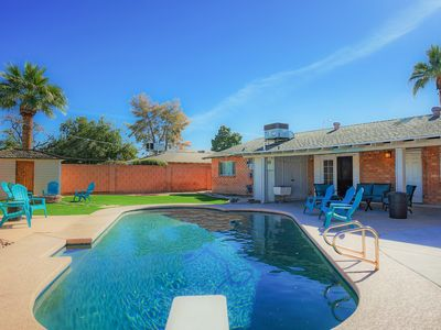 Photo for 4BR Old Town Remodel w/ Private Pool, Lush Backyard & Fire Pit