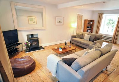Spacious but cosy living room