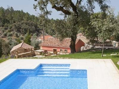 Photo for Rustic house with pool and barbecue overlooking the mountains