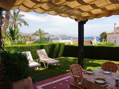 Photo for Quiet Apartment With A Great Backyard, Close To The Port And Beach.