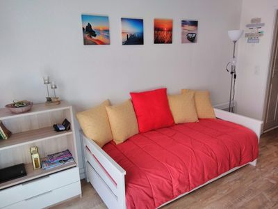 Photo for T2, 4 people in secure residence Neptuna, Plage de la Roquille