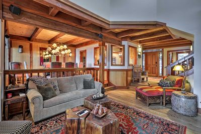 This townhome boasts over 2,700 square feet of living space.