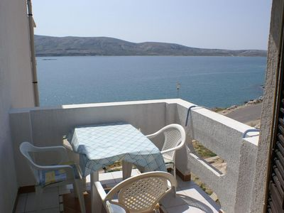Photo for Studio flat near beach Zubovići (Pag)